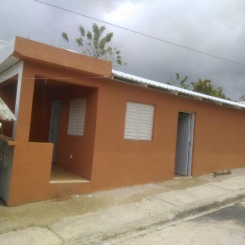 Casa Digna para productor de Arroyo del Clavo